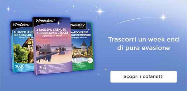 Best Wonderbox Soggiorno Spa E Relax Contemporary - Amazing Design ...