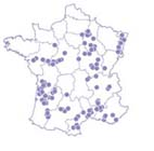 Localisation des activits du coffret Au coeur de nos vignes